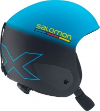 Г/Л шлем Salomon X RACE JR Blue/Black Mat